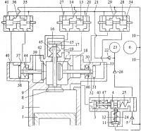 Патент 2615299 Способ дополнительного наполнения цилиндра двигателя внутреннего сгорания воздухом или топливной смесью перекрытием фаз газораспределения системой привода трёхклапанного газораспределителя с зарядкой гидроаккумулятора системы привода жидкостью из компенсационного гидроаккумулятора