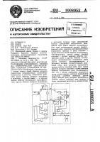 Патент 1008053 Устройство для контроля положения стрелочного перевода электрической централизации
