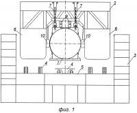 Патент 2619154 Способ погрузки, транспортировки и установки на морское дно тяжеловесного и крупногабаритного морского подводного объекта