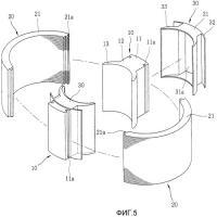 Патент 2269856 Узел статора электродвигателя и способ его изготовления (варианты)