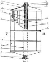 Патент 2329399 Аэротурбина для использования энергии воздушных потоков