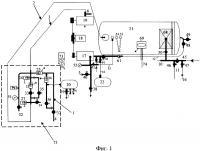 Патент 2649516 Мобильная вакуумная насосно-компрессорная установка непрерывного действия