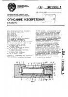 Патент 1075996 Устройство для измерения углов наклона