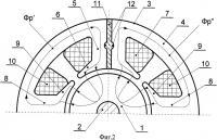Патент 2421865 Однофазный электродвигатель