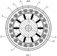 Патент 2478250 Редукторная магнитоэлектрическая машина с полюсным зубчатым индуктором