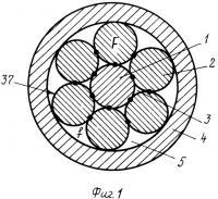 Патент 2412792 Биметаллическая электродная проволока, способ изготовления биметаллической электродной проволоки и устройство для изготовления биметаллической электродной проволоки