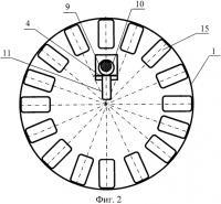 Патент 2575141 Устройство для съемки сечений горных камерных выработок