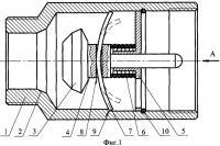 Патент 2315222 Автоматический термозапорный клапан