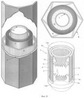 Патент 2355946 Топка бойлера, позволяющая избежать термического nox
