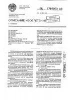 Патент 1789053 Двойной скошенный клин, в частности для крепления полюсов и колец ротора электрической машины