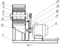 Патент 2591078 Молотковая дробилка