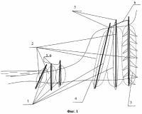 Патент 2280730 Защитное берегоукрепительное сооружение и способ его создания