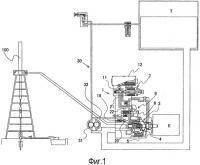 Патент 2563425 Гидравлическая система, приводящая в движение нефтяной скважинный насос