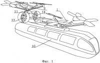 Патент 2267444 Летательный аппарат вертикального взлета и посадки с двумя продольно расположенными аэродинамическими подъемно-тянущими движителями