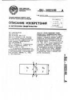 Патент 1022100 Способ выделения границ пропластков в цилиндрическом законсервированном керне