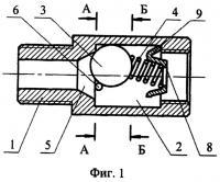 Патент 2289747 Автоматический термоклапан