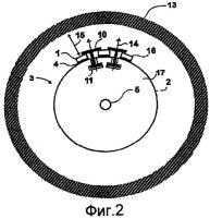 Патент 2437194 Устройство и способ зажима и фиксации постоянных магнитов и улучшения охлаждения во вращающейся электрической машине