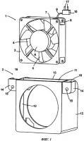 Патент 2520127 Холодильный аппарат с вентилятором