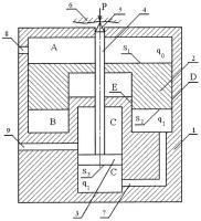 Патент 2433266 Погружной измеритель крепости горных пород