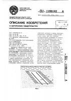 Патент 1198142 Способ возведения наносорегулирующего берегоукрепительного сооружения