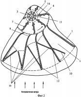 Патент 2459976 Ветроэнергогенератор