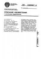 Патент 1069067 Статор электрической машины
