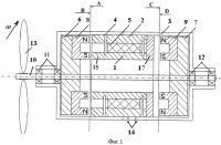 Патент 2435983 Двухроторный зубцовый ветрогенератор