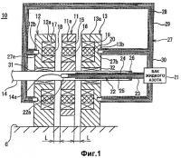 Патент 2411624 Электродвигатель со сверхпроводящей обмоткой с аксиальным зазором