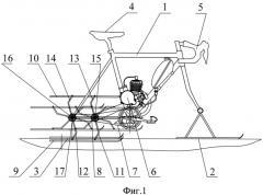 Способ перемещения снегохода (патент 2521148)