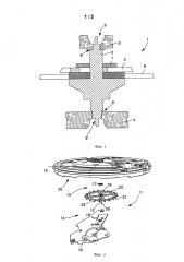 Поворотный узел для часов (патент 2642153)