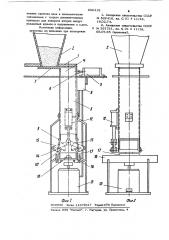 Дозатор сыпучих материалов (патент 896419)