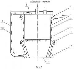 Реактор для получения синтез-газа (патент 2392297)