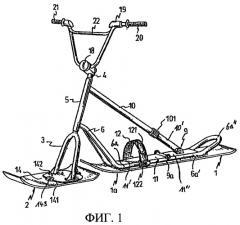 Устройство для скольжения по снегу (варианты) (патент 2270124)