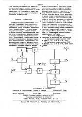 Дифференцирующе-сглаживающее устройство (патент 898428)