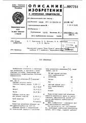 Шпаклевка (патент 897751)