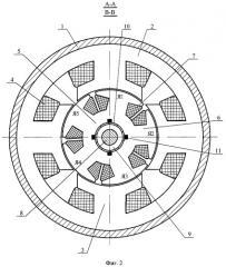 Коллекторный электрический двигатель с полюсным якорем (патент 2390087)