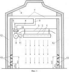 Система лучистого отопления здания (патент 2668239)