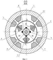 Явнополюсная коллекторная электрическая машина (патент 2414795)