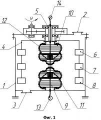 Вибрационный смеситель (патент 2668251)
