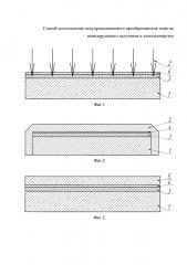 Способ изготовления полупроводникового преобразователя энергии ионизирующего излучения в электроэнергию (патент 2668229)