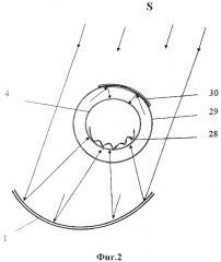 Солнечный опреснитель с параболоцилиндрическими отражателями (патент 2668249)