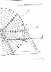 Прибор для определения скорости и направления ветра (патент 809)