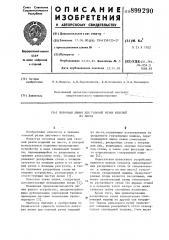 Поточная линия для газовой резки изделий из листа (патент 899290)