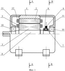 Коллекторная электрическая машина постоянного тока с полюсным якорем (патент 2385525)