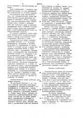 Технологическая линия для изготовления крупногабаритных изделий из каменного литья (патент 897516)