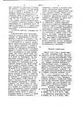 Задний стол стана с осевой выдачей труб (патент 900911)