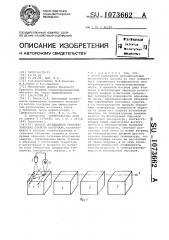 Способ определения теплофизических свойств материала (патент 1073662)