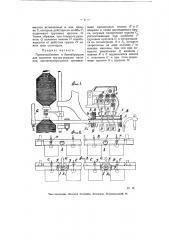 Приспособление к банкаброшам для поднятия грузов верхних валиков (патент 5734)