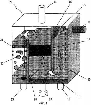 Устройство для отделения ртути от каустической соды на установках производства хлора и каустика (патент 2426821)