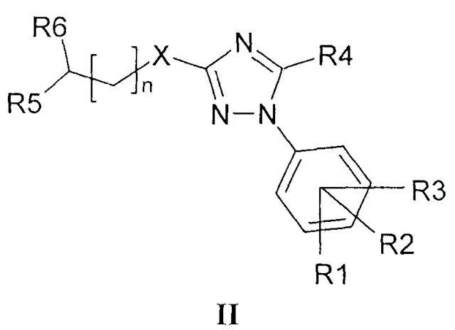 N4-замещенные 3-алкилсульфанил-5-(1,2,4-триазол-1-илметил)-1,2,4-триазолы, способ их получения, фунгицидные и рострегуляторные композиции на их основе (патент 2668212)
